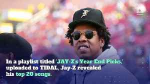 Jay-Z Reveals His Favorite Songs of 2018 [Video]