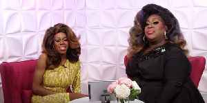 Drag Queens Jasmine Masters & Latrice Royale Reminisce On Diva Holiday History [Video]