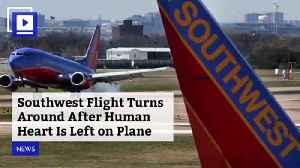 Southwest Flight Turns Around After Human Heart Is Left on Plane [Video]