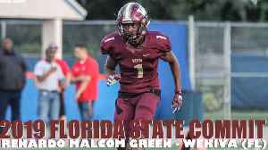 Florida State commit Renardo Green - 2018 highlights [Video]