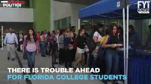 Dangerous Law Affects Florida College Students [Video]