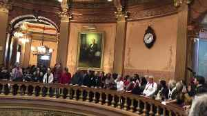 Protesters Occupy Michigan State Capitol in Demonstration Against Lame-Duck Power Grab [Video]