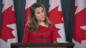 Canadian FM: extradition should not be politicized [Video]