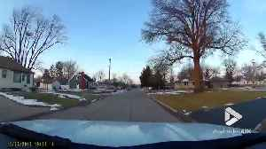 Car crashes into fire hydrant [Video]