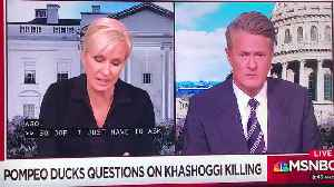 "Brzezinski Calls Sec Of State Mike Pompeo A ""Butt-Boy""; Still Employed At MSNBC [Video]"