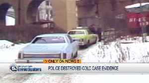 Local family reports Cleveland police threw-out evidence in 37-year-old unsolved murder case [Video]