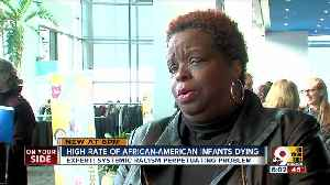 Experts look at racism as cause for higher infant mortality rate among African-Americans [Video]