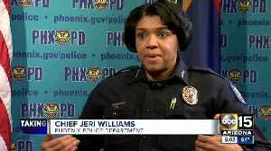 Phoenix Police Chief Jeri Williams responds to New York Times report on officer-involved shootings