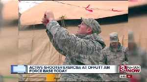 Offutt Air Force Base conducting active shooter exercise [Video]