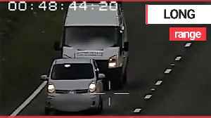 Police release new footage captured by their new weapon in the fight against dangerous driving