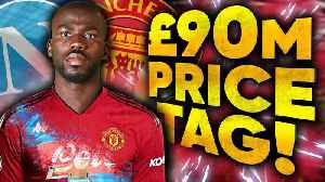 Manchester United To Sign One Of The Most Wanted Players For �90M?! | Transfer Talk [Video]