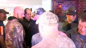 Hugs and cheers after West Virginia mine rescue [Video]