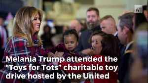 Melania Gifts Special Christmas Drawing to Girl, Parents Left 'Stunned and Amazed' [Video]