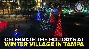 Celebrate the holidays at Winter Village in Tampa | Taste and See Tampa Bay [Video]