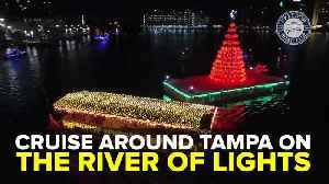 Cruise around Tampa on the River of Lights | Taste and See Tampa Bay [Video]