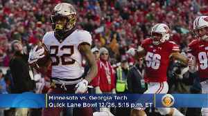 Quick Lane Bowl, Goodyear Cotton Bowl Classic, and Capital One Orange Bowl Predictions [Video]