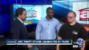 Arc thrift stores celebrate 50 years [Video]