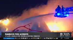 Police Charge 4 Teens With Arson, Criminal Trespass [Video]