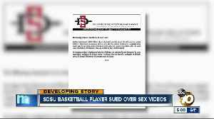 SDSU basketball player sued for sharing sex videos [Video]