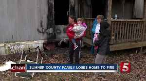 Single mother and two children now homeless after White House mobile home fire [Video]