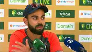 Kohli confident as India prepare to face Australia in the second test in Perth [Video]
