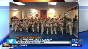 Good morning from the U.S. Taekwondo Academy! [Video]