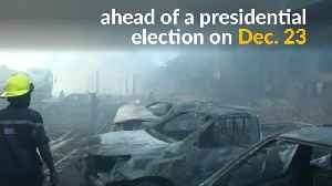 Fire destroys thousands of voting machines ahead of key Congo vote [Video]