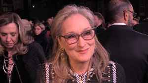 Meryl Streep on why is important to have movies like 'Mary Poppins Returns' [Video]