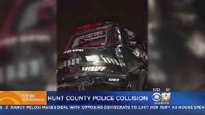 Crash During Chase In Hunt County Sends 2 Officers To The Hospital [Video]