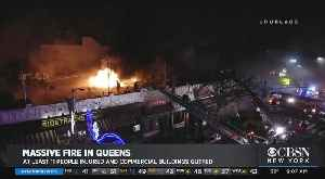 12 Hurt As Fire Rips Through Sunnyside Businesses [Video]