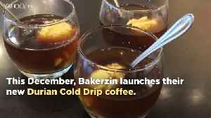 Bakerzin's new durian cold drip coffee and giant burgers make debut [Video]