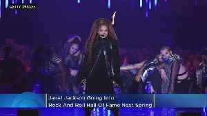 Janet Jackson (Finally) Inducted Into Rock & Roll Hall Of Fame [Video]