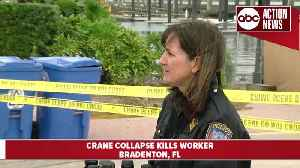 Construction worker dead after crane collapses at marina in Bradenton [Video]