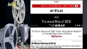 2018 Movies: The Worst of the Worst [Video]