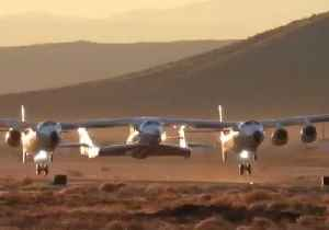 Virgin Galactic Takes Off on First NASA Mission [Video]