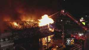 Fire Leaves 12 Injured, Including 7 Firefighters [Video]