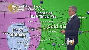 Winter Weather Advisory For Western Counties; Strong Winds Expected Through North Texas [Video]