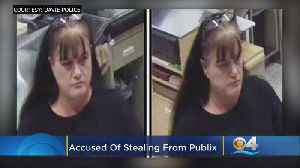 Clear Images Show Woman Police Say Stole $1,000 Worth Of Cosmetics From Davie Publix [Video]