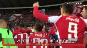 Red Star fans in the Champions League [Video]