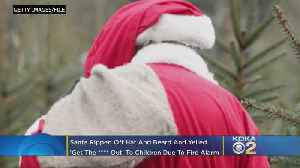 Organizers Issue Apology After Fire Alarm Prompts Santa To Rip Off Beard, Yell Obscenities At Children [Video]