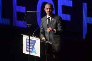 News video: Barack Obama Receives RFK Human Rights Ripple of Hope Award