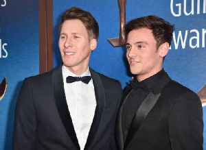 Dustin Lance Black and Tom Daley want a 'football team' of kids [Video]