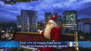 27 Percent Of People Think Santa Should Be Female, Gender Neutral, Survey Finds [Video]