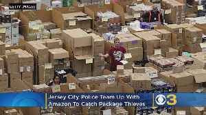 Jersey City Police Use Fake Amazon Box, GPS To Catch Would-Be Thieves [Video]