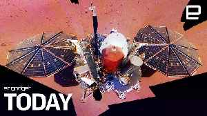 NASA's InSight lander uses a selfie to prove it's on Mars | Engadget Today [Video]