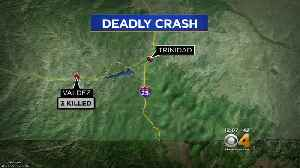 Deputy And 2 Others Killed In 3-Car Crash In Southern Colorado [Video]