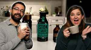 Taste Test: Jaime and Chris Try Bottled Cold Brew Coffee [Video]