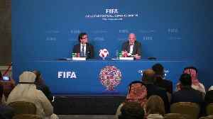 News video: Infantino says he has wide support for 48-team World Cup in Qatar