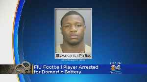 FIU Football Player Arrested [Video]