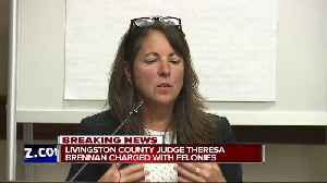 Livingston Co. Judge Theresa Brennan being charged with three felonies